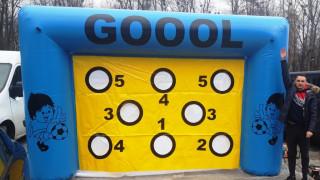 Futbalová Maxi brána - nová - zábavná atrakcia 2020