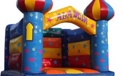 Aladin - skákaci hrad